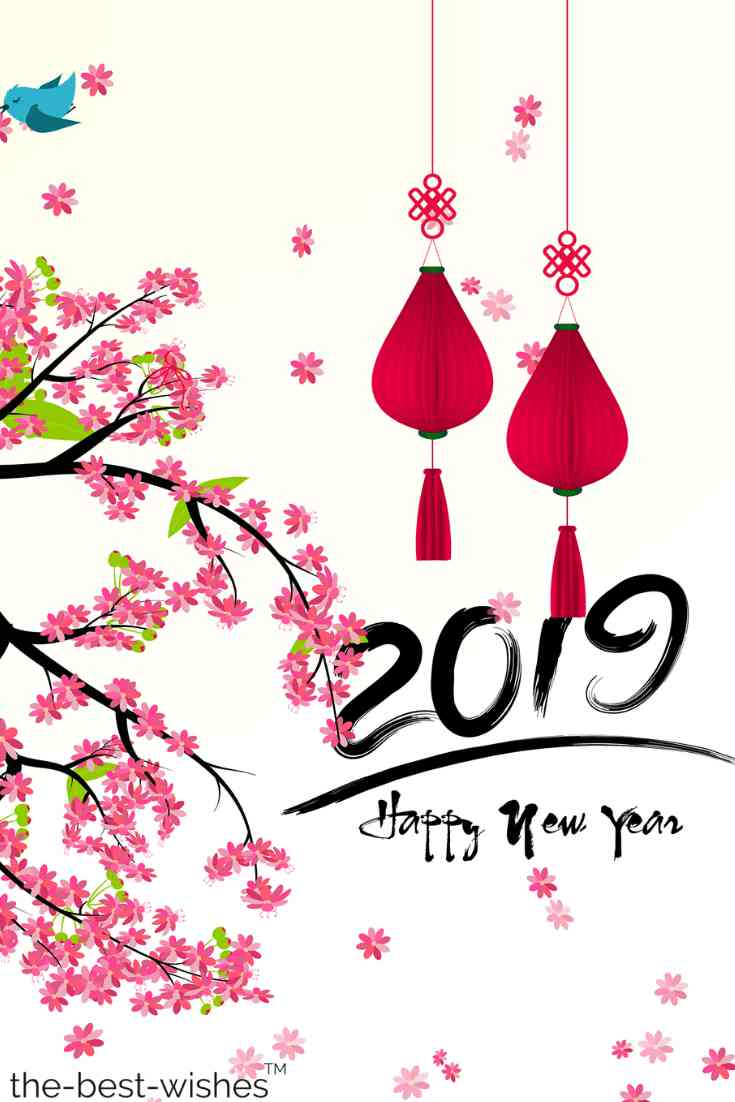 beautiful happy new year 2019 image