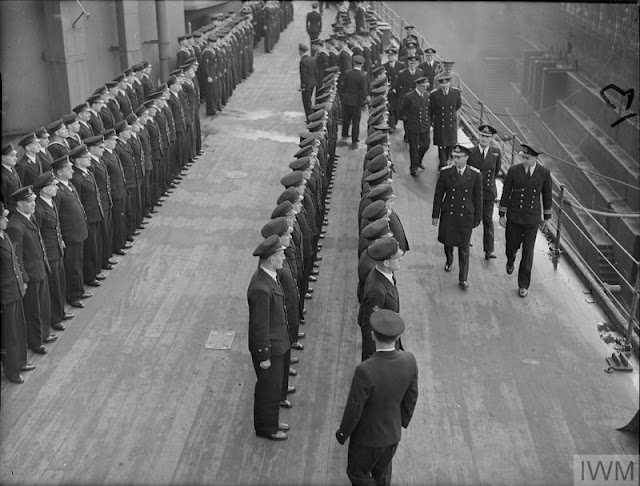 5 March 1941 worldwartwo.filminspector.com King George Rosyth