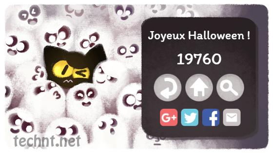 جوجل تطلق لعبة بسيطة Doodle Halloween - اللعبة متاحة في الموضوع - التقنية نت - technt.net