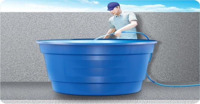 Limpeza caixa d'água em Cascata
