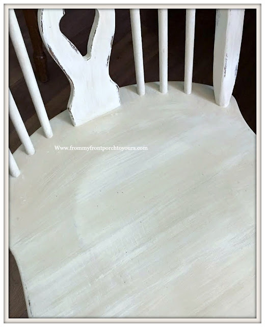 French Country-Farmhouse-Dining Room-Fiddleback Chairs-DIY-Chalk Paint-From My Front Porch To Yours