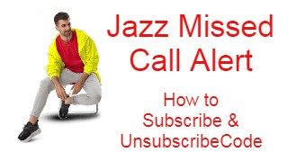 Jazz Miscall Alert | How To Subscribe & Unsubscribe |