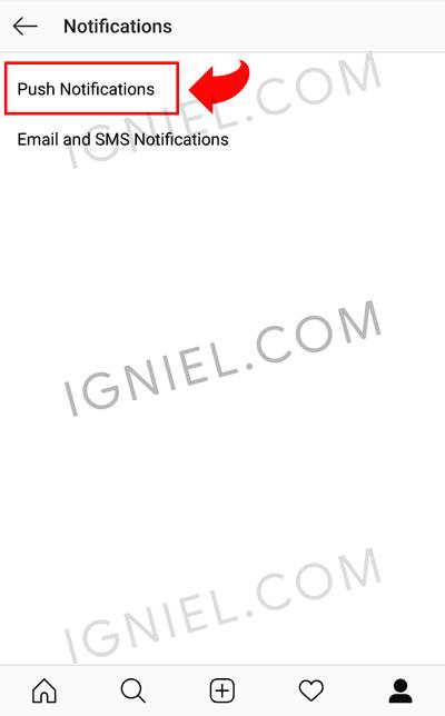 Blokir Notifikasi Hape Untuk Live IG