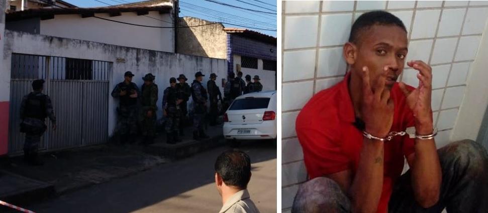 Assaltante invade casa e faz reféns na Cidade Operária