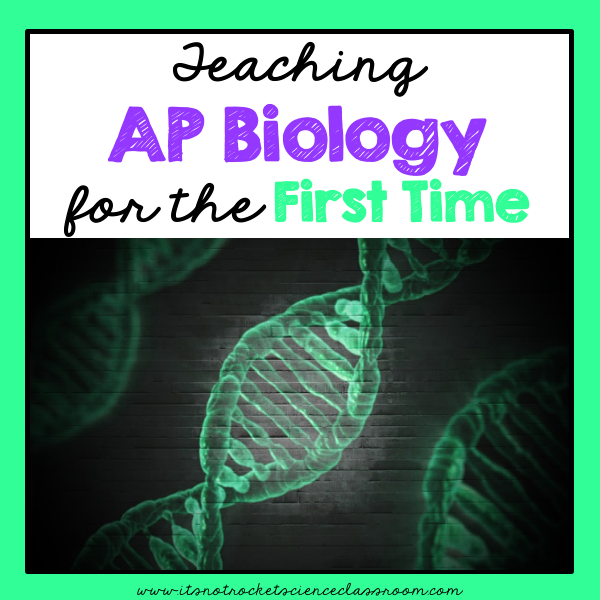 For teachers, taking on a new subject can be really challenging, but especially hard if teaching and AP class for the first time.  In this blogpost, I reflect on my first year teaching AP biology and some tips, questions to consider, and helpful resources for other high school teachers taking on the subject for the first time.