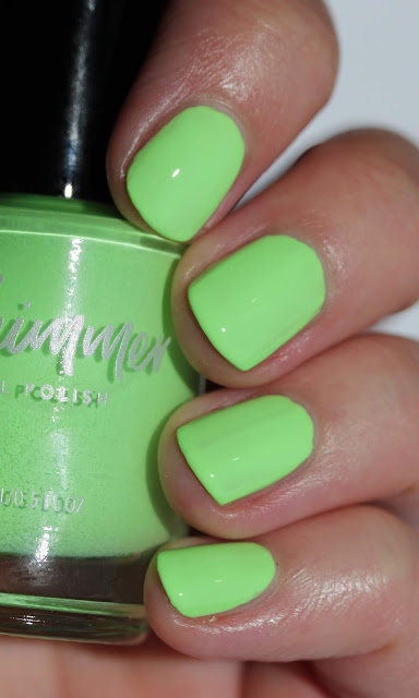 KBShimmer Lime All Right swatch by Streets Ahead Style