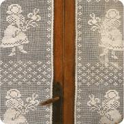 "Cortina a Crochet ""La Campesina Alegre"""