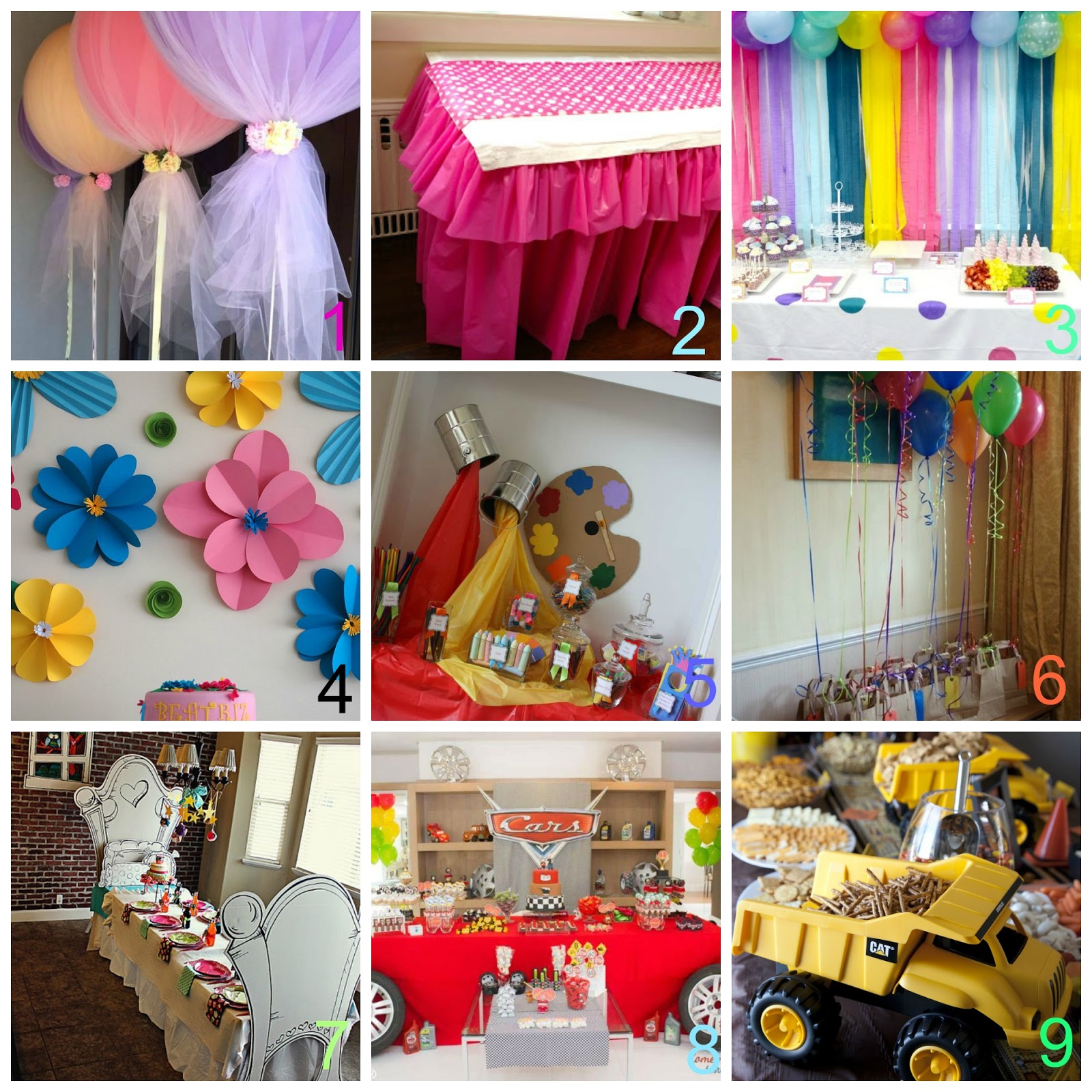 Mamma aiuta mamma addobbi fai da te per le feste per i bimbi for Decorazioni per feste