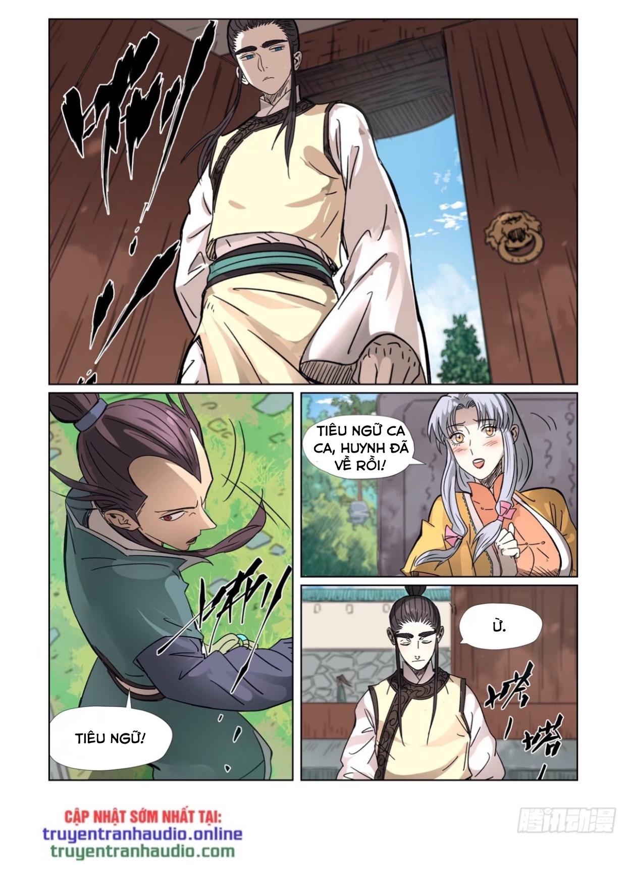 Yêu Thần Ký chap 302.5 - Trang 8