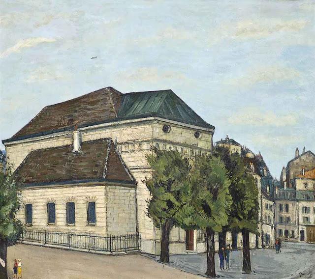 Alphonse Leon Quizet - Maisons a Montmartre