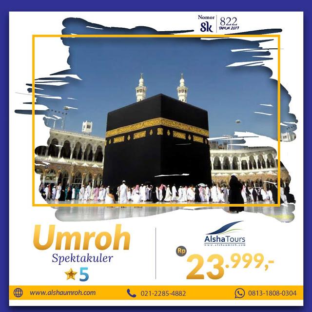Umroh 23 Jutaan Alsha Tour