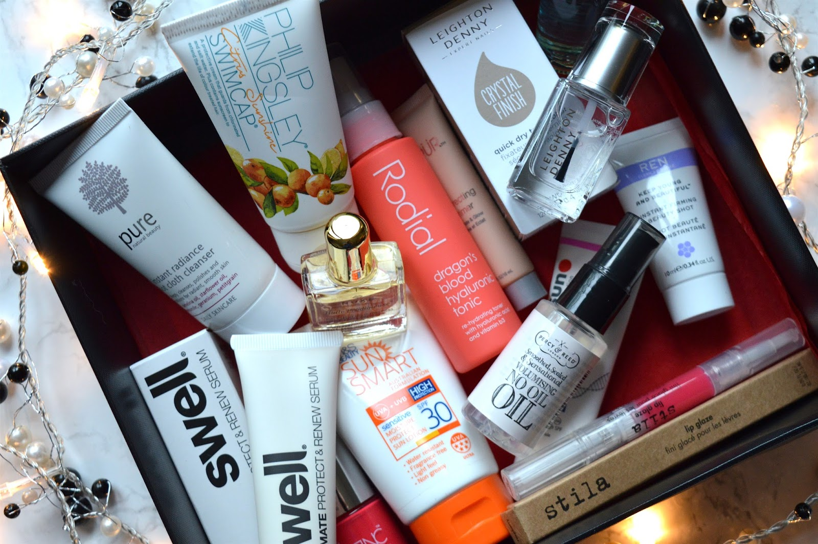 Marks & Spencer Summer Beauty Box Contents