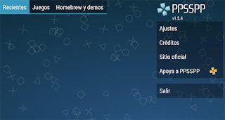 ajustes ppsspp android