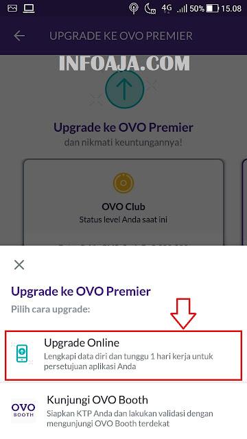 Upgrade ke OVO Premier Online