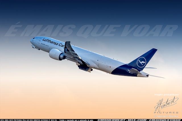 Em setembro, Grupo Lufthansa passa a conectar o Brasil à Europa com 10 voos semanais | Foto © Herbert Monfre - Fotógrafo de avião - Eventos - Publicidade - Ensaios - Contrate o fotógrafo pelo e-mail cmsherbert@hotmail.com | Imagem produzida por Herbert Pictures - É MAIS QUE VOAR