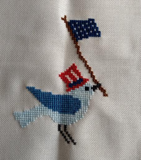 Cross Stitch Surprise And A New Designer