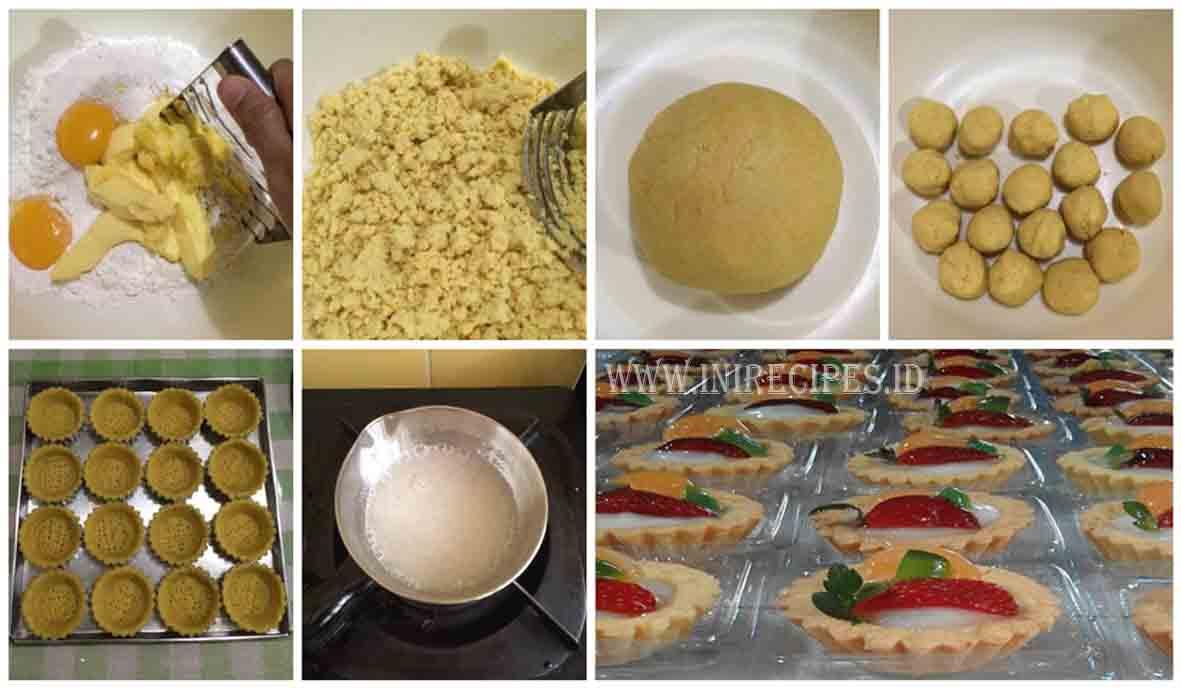 Resep Mudah Bikin Kue Pie Vla Buah Pesanan Ibu-Ibu Arisan