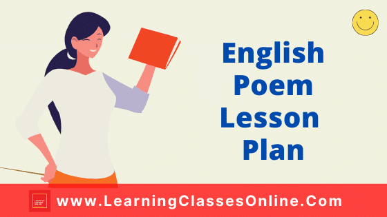 English Poem Lesson Plan for B.Ed and School Teachers On The Road Not Taken Poem For Class 9 Free Download PDF