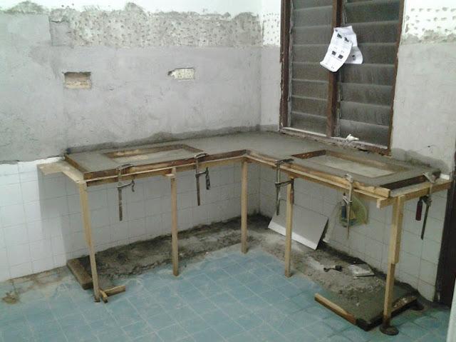 Konsep Membuat Meja Dapur Minimalis Dari Besi Cor
