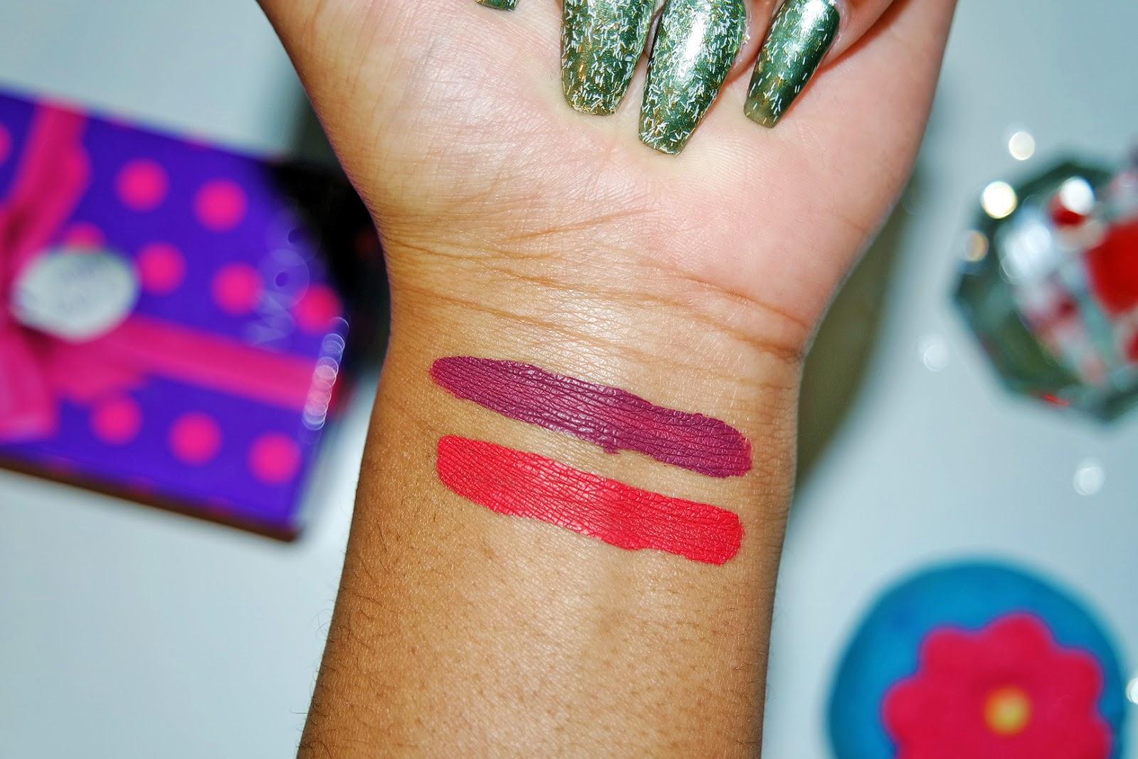 Tashika Bailey | LA Girl Matte Pigment Gloss Review