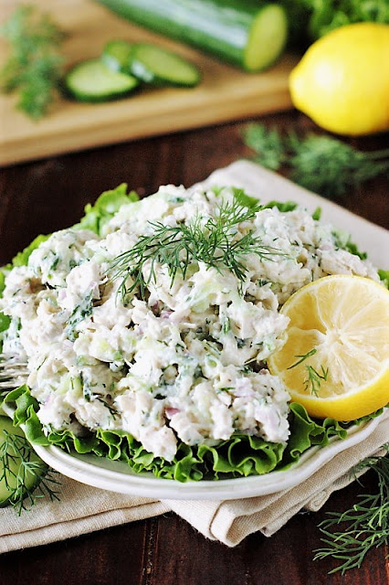 Tzatziki Chicken Salad image
