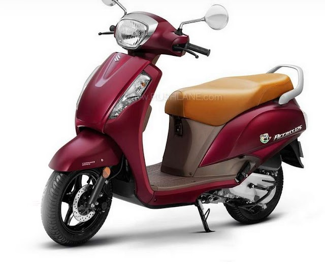 Suzuki launch new color options access 125.