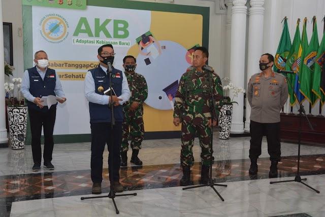 Pangdam III/Siliwangi Dampingi Kunjungan Kasad di Wilayah Kota Bandung