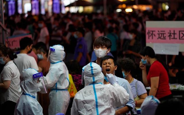 H Κίνα επιστρέφει σε αυστηρό lockdown - Σε χώρους εστίασης που είχαν ανοίξει έγινε η μεγαλύτερη μετάδοση του ιού