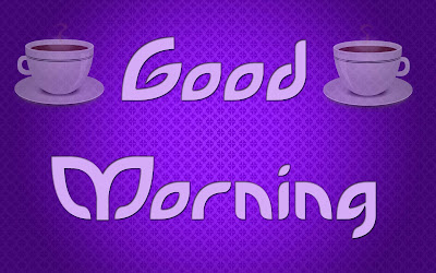Good Morning wishing Tea Cup hd wallpaper