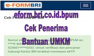 eform.bri.co.id.bpum, eform.bri.co.id bpum tahap 2