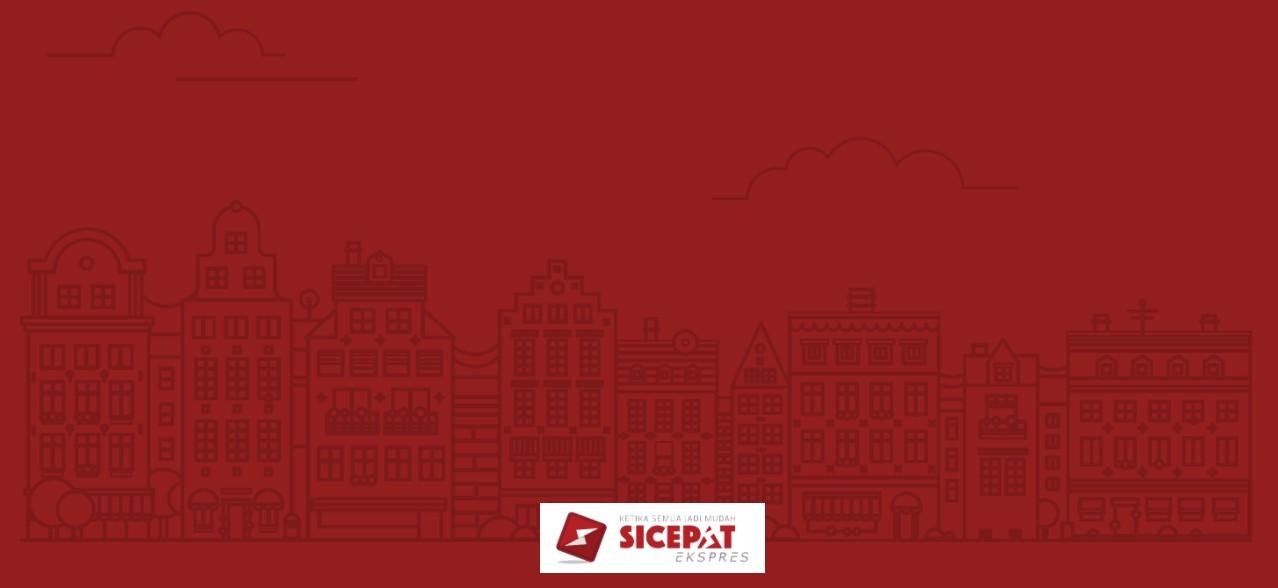 Cover branding ekspedisi SiCepat Express