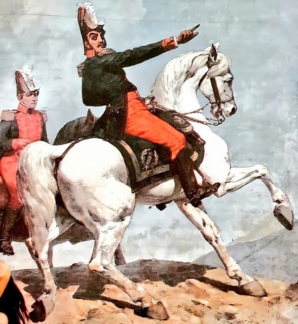Simón Bolívar en Carabobo, por Tovar y Tovar