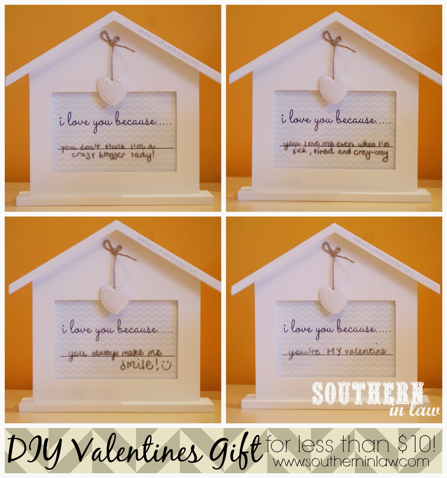Easy DIY Valentines Gift - Cheap Handmade Valentines Gift Ideas