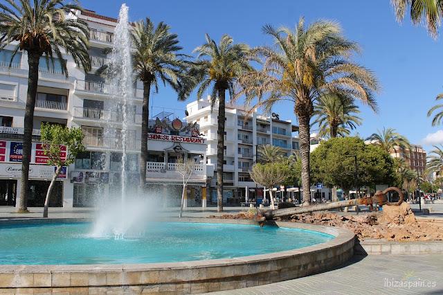 Passeig de ses Fonts Sant Antoni Ibiza