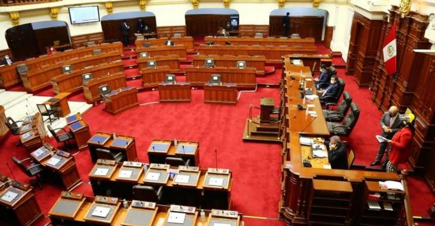 Congreso convoca al pleno para la presentación del Gabinete este martes y solicitar el voto de confianza