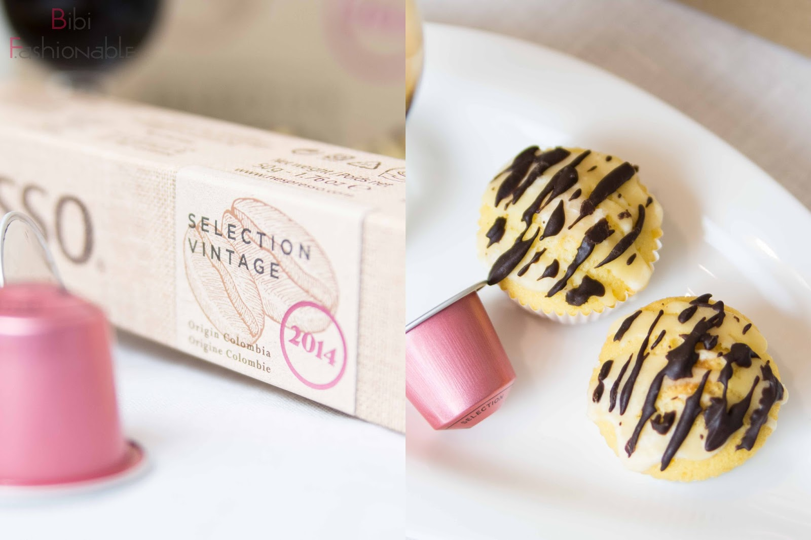 Selektion Vintage 2014 Verpackung mini Eierlikör Muffins oben