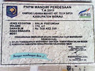 PROMOSI PRASASTI PNPM TAHUN ANGGARAN 2012