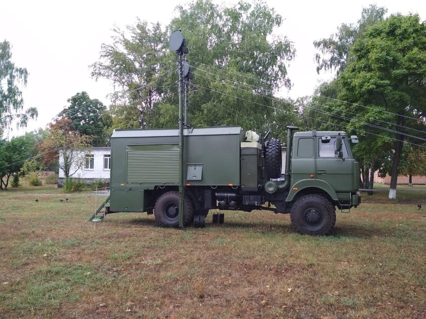 ДССЗЗІ отримує польові комплексні апаратні Д-14МУ