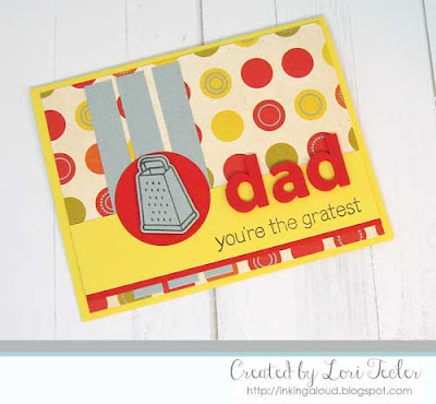 You're the Gratest card-designed by Lori Tecler/Inking Aloud-stamps and dies from Lawn Fawn