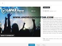 Download Lapax Theme Developer Version 1.2.2 Untuk Theme Toko Online