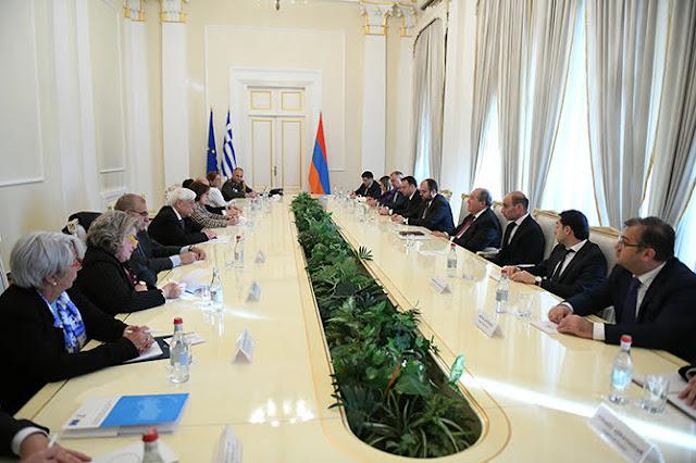 Grecia ratificará el Acuerdo de Asociación Integral y Mejorado Armenia-UE