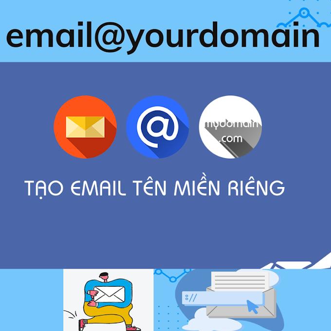 Email domain tên miền riêng của bạn