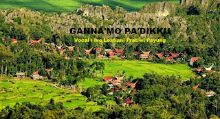 Lirik Lagu Toraja Ganna'mo Pa'dikku (Ivo Lestari Pratiwi Payung)