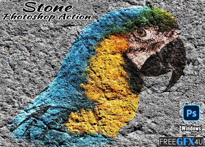 Stone Photoshop Action