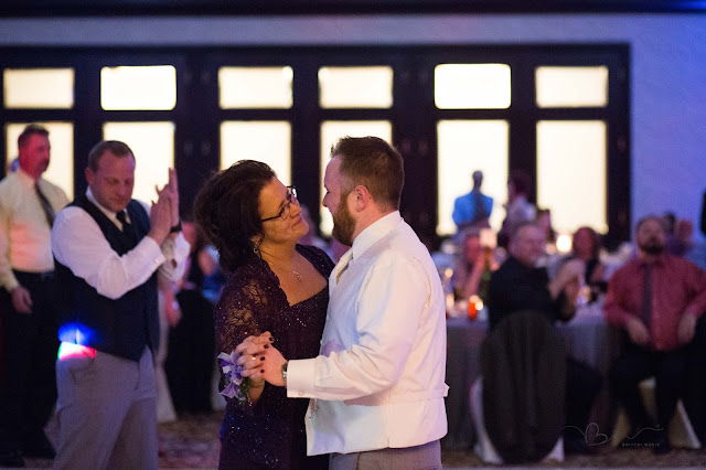 mother son dance at italian american cultural center in clinton township