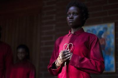 Lupita Nyong'o as Adelaide Wilson's doppelganger Red in Jordan Peele's Us