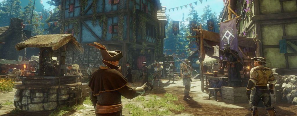 The settlements in New World are an important place for trade, housing and crafting.