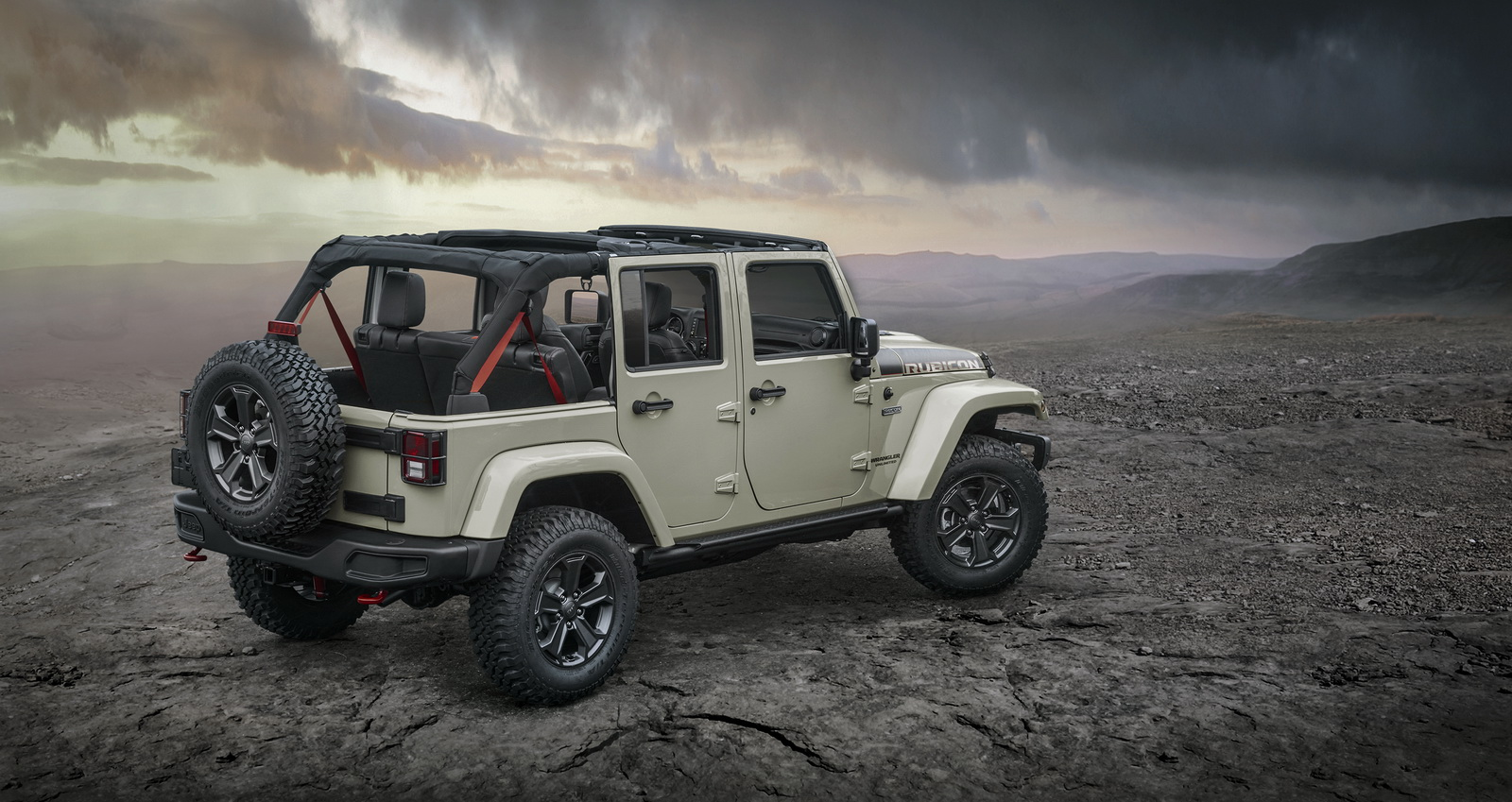 New Jeep Scrambler >> Jeep Reveals New Wrangler Rubicon Recon For Off-Road Aficionados