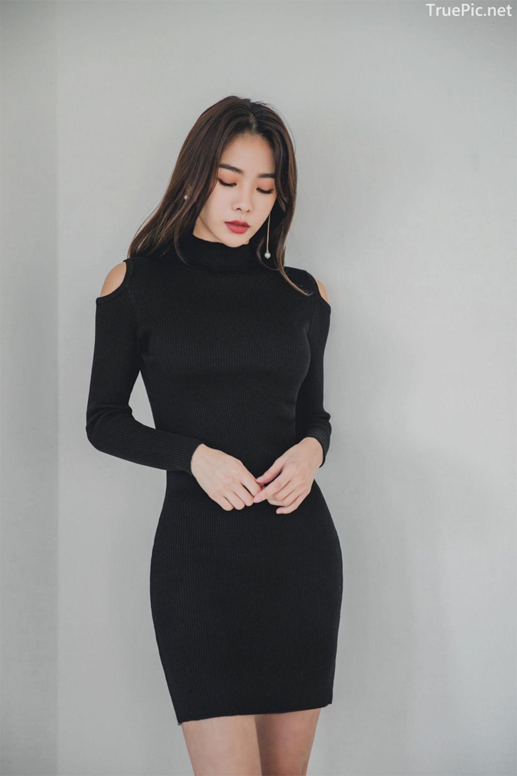Korean fashion model - An Seo Rin - Woolen office dress collection - TruePic.net - Picture 7
