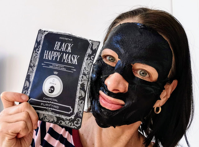 Kokeile Kocostarin Black Happy Mask